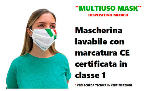Mascherina Multiuso Mask